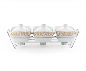 Casserole With Rack B751 Motif Lolli