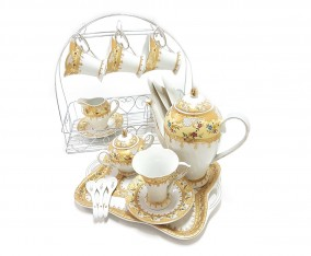 Coffee Set C59 Motif Camelia