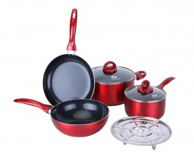 Peralatan Masak Praktis V707 Warna Merah