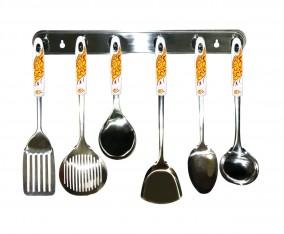 Perlengkapan Peralatan Dapur VK915 Motif Marigold