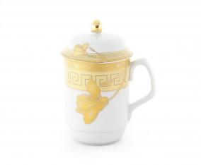 Mug Y66 Motif Lily