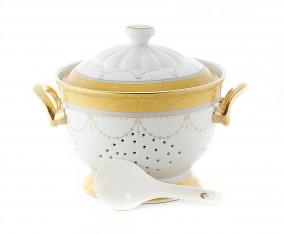 Rice Bowl 26 Cm M09 Motif Padi