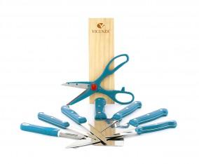 Pisau Set V920K Warna Biru Muda