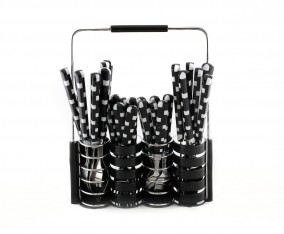 Stainless Steel Cutlery Set V240C (Hitam)
