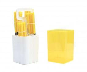 Sendok dan Garpu Set V241C Warna Kuning