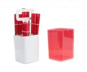 Sendok dan Garpu Set V241C Warna Merah