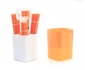 Sendok dan Garpu Set V241C Warna Orange