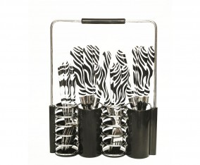 Stainless Steel Cutlery Set V242C Hitam