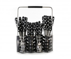 Stainless Steel Cutlery Set V245C (Hitam)