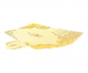 Tatakan Piring dan Gelas Table Mat VM01 Motif Marigold