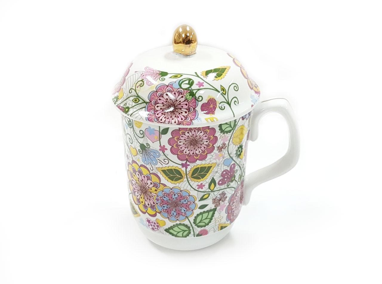 Mug Y66 Motif Gardenia