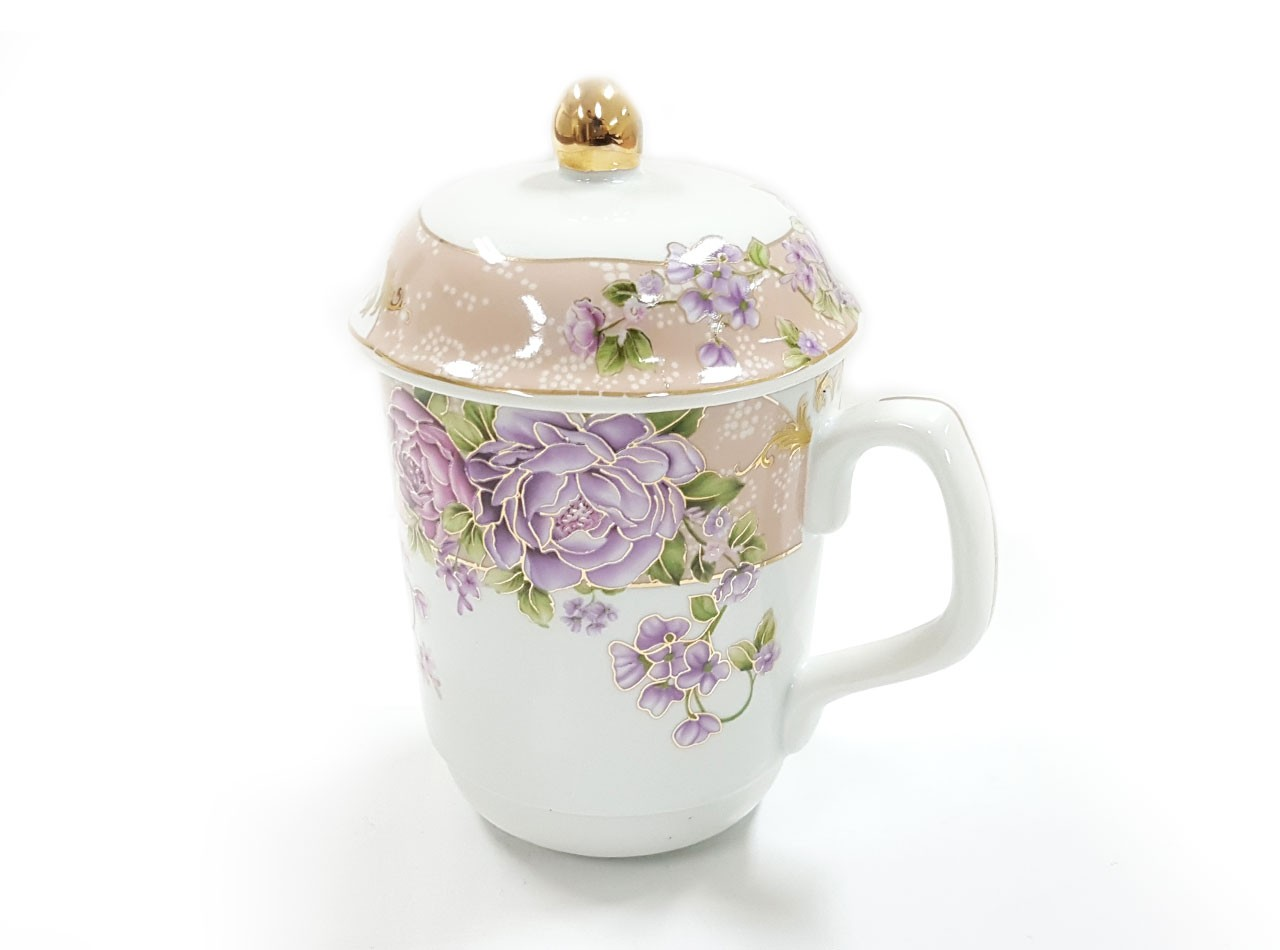 Mug Y66 Motif Magnolia