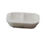 Piring Saji Porselen 3 inch J2406