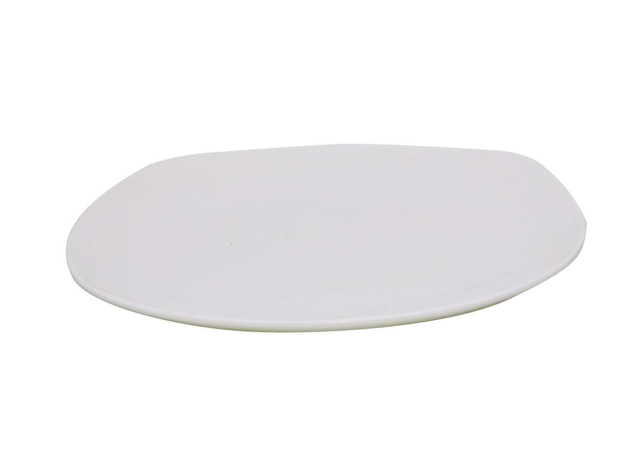 Piring Diagonal Porselen 12 inch J3435