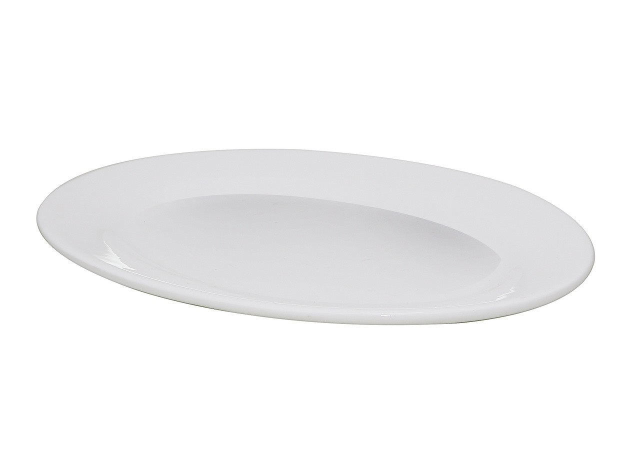 Piring Oval Porselen 10 inch A0013