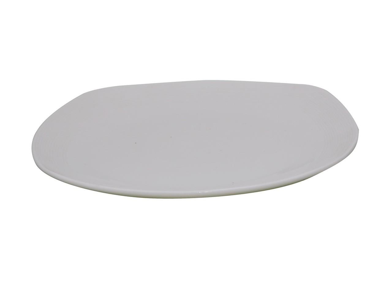 Piring Diagonal Porselen 10.5 inch J3434