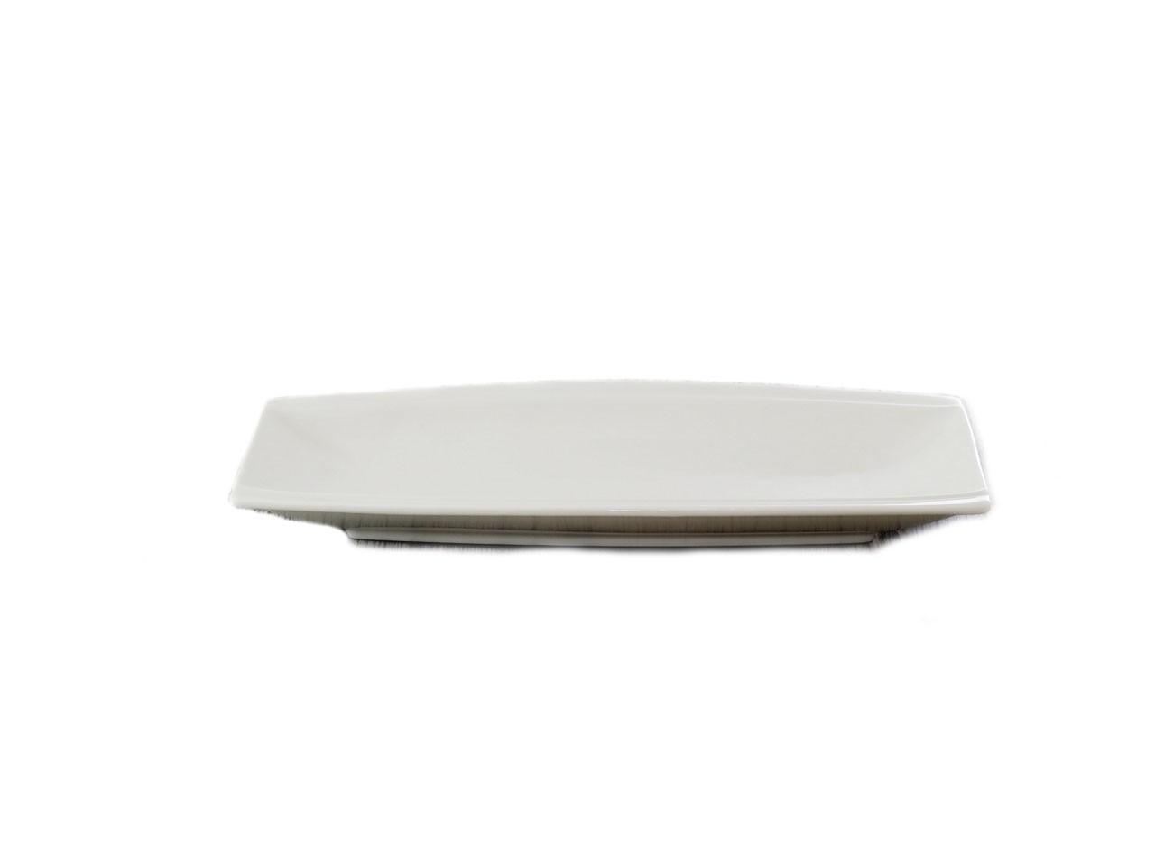 Piring Persegi Panjang Porselen 12 inch LQ11016-12