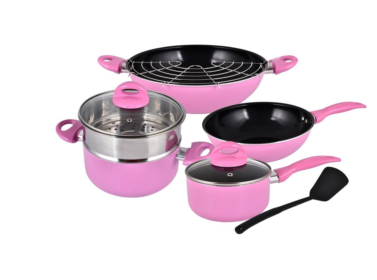 Peralatan Masak Praktis V709 Warna Pink