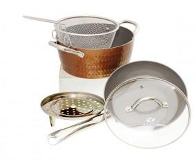 Peralatan Masak Bulat V5491 Warna Copper