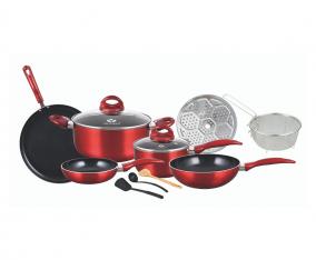Set Peralatan Masak V712 Warna Merah