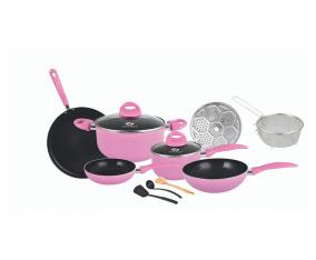 Set Peralatan Masak V712 Warna Pink