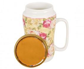 Mug Warm YA68 Motif Mawar